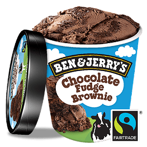 Foto Ben & Jerry's Chocolate Fudge Brownie 500ml